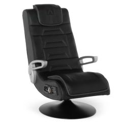 X Rocker Pro Pedestal Gaming Chair Wood Accent Chairs Comfortable X-rocker Series Wireless Game