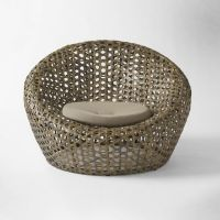 Lovely nest chair for your patio area