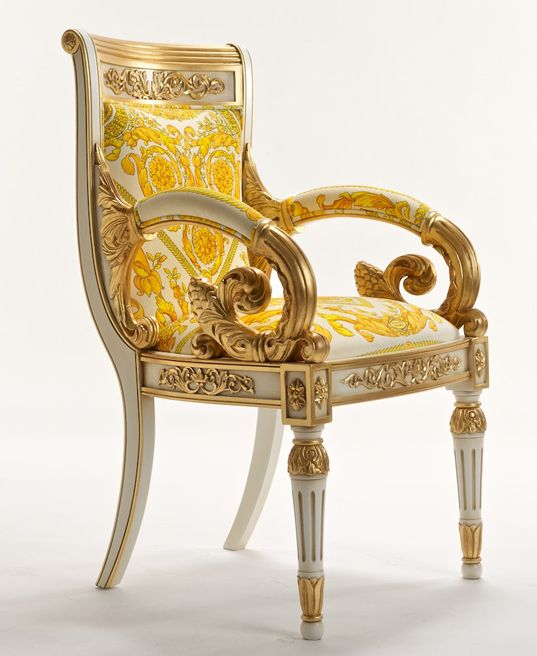 The Luxurious Versace Vanitas Chair