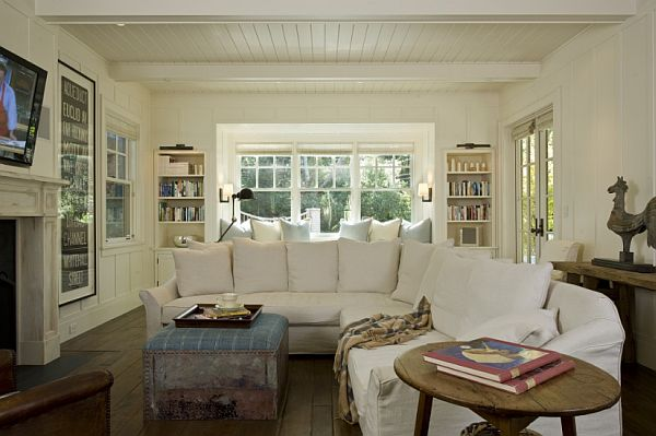 white sofa living room outdoor sets how to keep a clean view in gallery