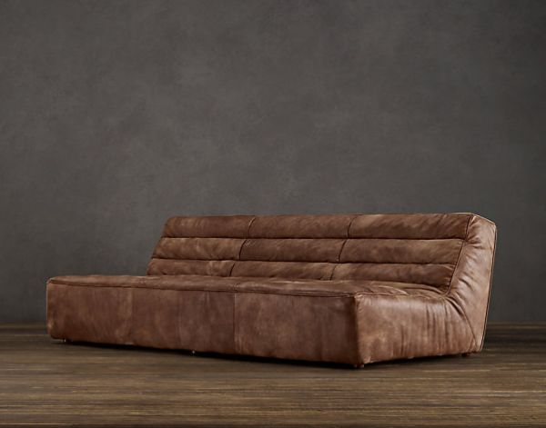 beautiful leather corner sofas stretch slipcovers for sleeper 6 industrial-style furniture pieces your home
