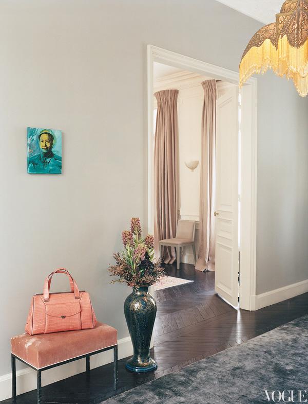 L Wren Scott And Mick Jagger S Stylish Parisian Apartment