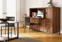 Elegant Hidden Office Armoire