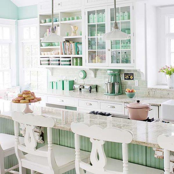 beach cottage style kitchens 20 Charming cottage-style kitchen decors