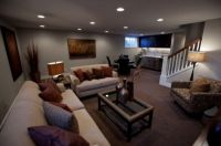 Make A Cold Basement Look Attractive