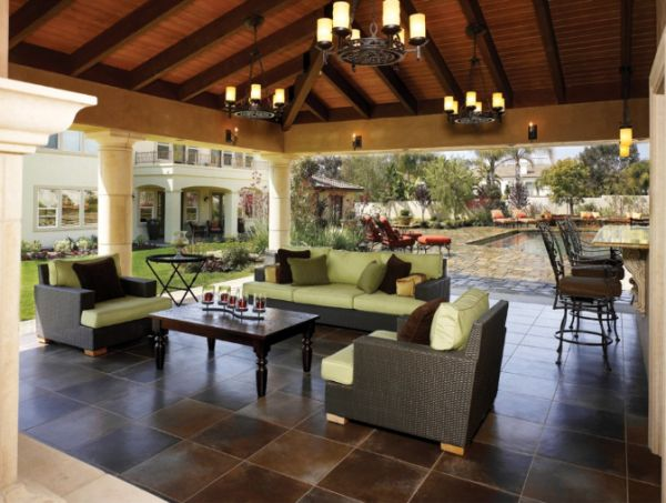 covered outdoor living space Tips for Creating the Perfect Outdoor Living Space
