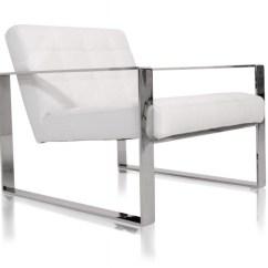 Steel Lounge Chair Retro Metal Savina
