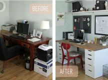 Simple Ikea Office Makeover