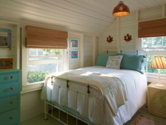 cottage bedroom traditional