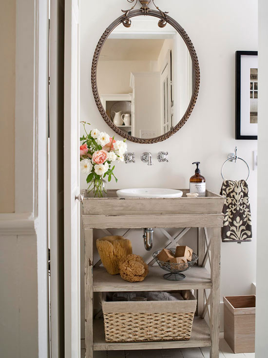 7 Simple Single Vanity Design Ideas