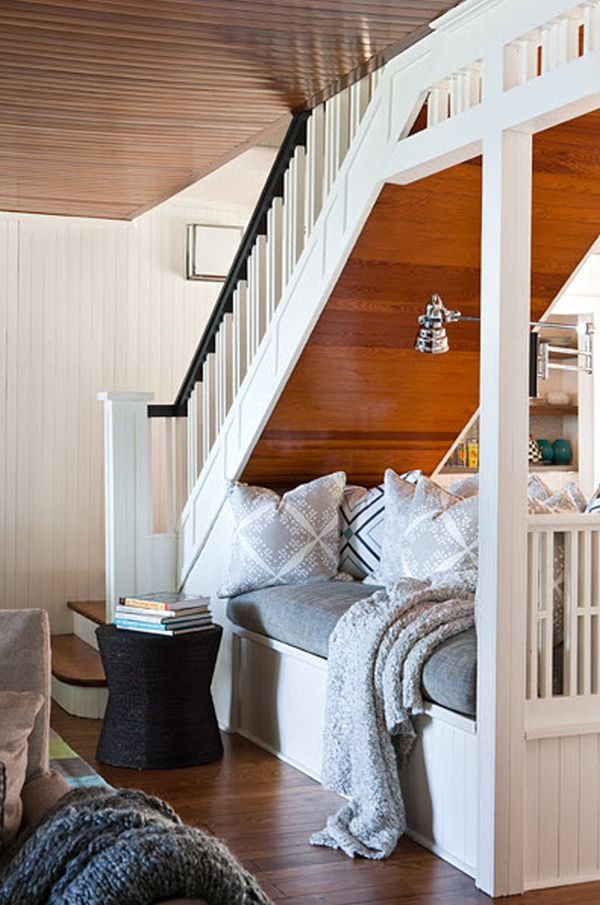 5 Ways To Utilize Under The Stairs