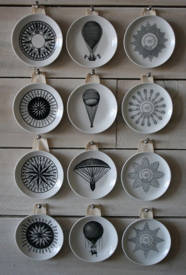 Grey Decorative Wall Plates | Billingsblessingbags.org