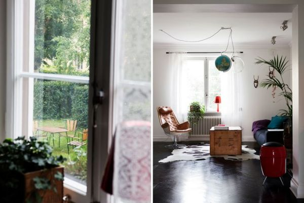 A surprisingly spacious 60 square meter residence