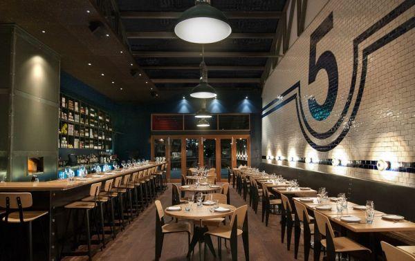 SHED 5 restaurant in Melbourne Australia