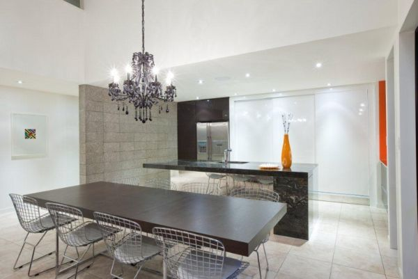 Why should I have a chandelier in the kitchen
