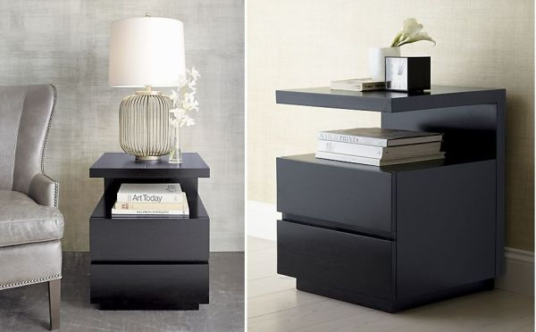 The sleek Pavillion nightstand