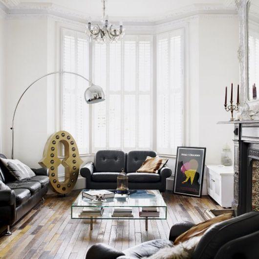 A classical Britishstyle home interior