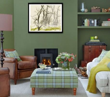 Decorating A Hunter Green Living Room