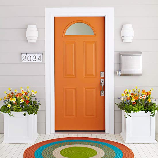 7 Quick Ideas To Make Your Front Door Pop