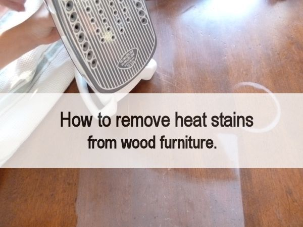 How To Remove Stains From Wood Table