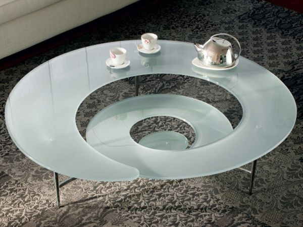 coffee decoration for kitchen outdoor sinks the futuristic spiral table