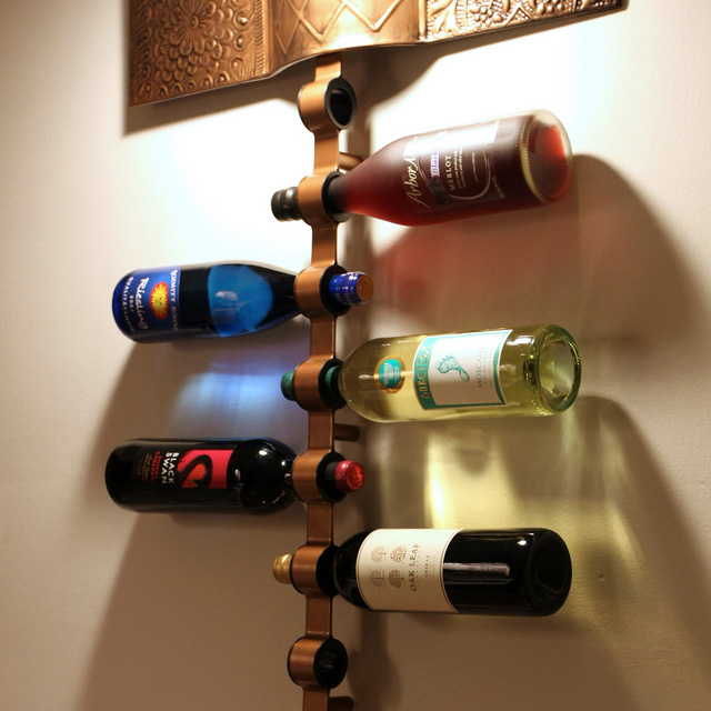 the simple and practical blomus wine rack