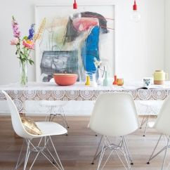 Eames Molded Side Chair Retro Leather And Footstool 10 Beautiful Interior Designs Featuring The Eames® Plastic Chairs