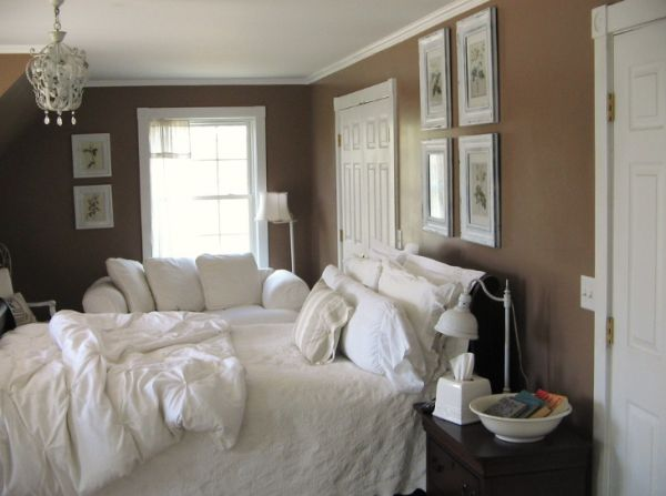 light brown paint bedroom room How to decorate a bedroom with brown walls