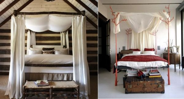 Decorating A Canopy Bed