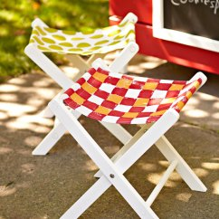 Folding Chair Picnic Table Black Wire Dining Chairs Nz 10 Creative Diy Stools