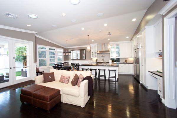 Five Beautiful Open Kitchen Interior Designs