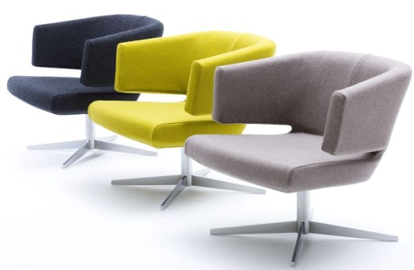 Elegant and Colourful Lounge Chair
