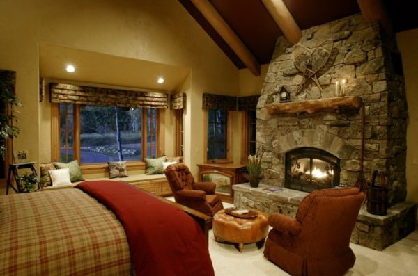 bedroom fireplaces – a way of making this room even more warm