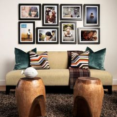 Living Room Decorating Ideas Picture Frames Cheap Black Furniture 25 Stylish Ways Of Displaying Your Family Photos View In Gallery