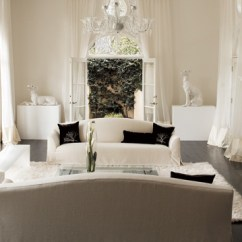 All White Living Room Ideas Centerpieces For Table Decorating Rooms Inspiration