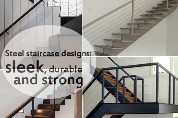 10 Steel Staircase Designs Sleek Durable And Strong | Structural Steel Stair Design | Steel Construction | 4 Column Steel | Detailing | Steel Staircase | Small Space