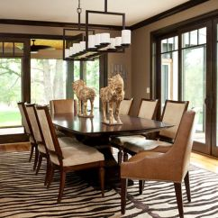 Nice Living Room Rugs Shabby Chic Furniture Ideas 5 Rooms Featuring A Zebra Print Rug Dining With