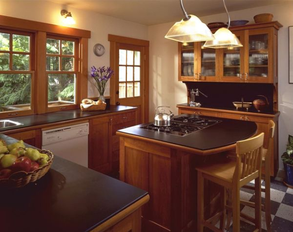small island for kitchen sinks and faucets 10 design ideas practical furniture view in gallery inviting traditional with cherry cabinets