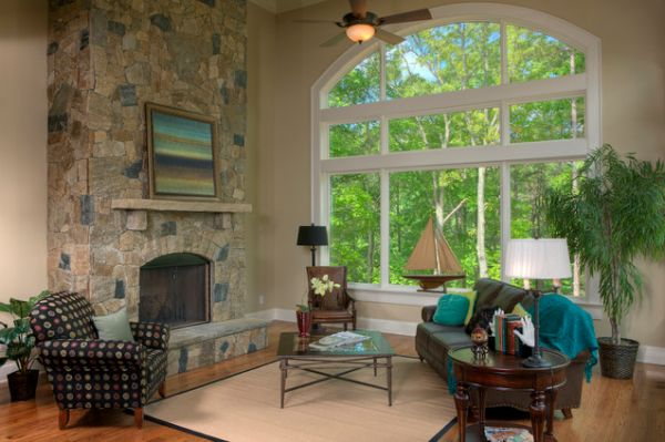 living room big window leather rooms how to decorate a with large windows view in gallery