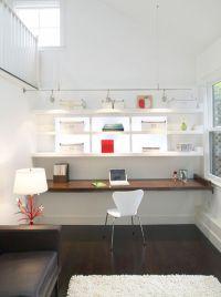 Woodwork Modern Floating Desk Plans PDF Plans