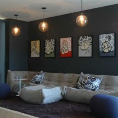 Living Room Color Schemes Grey Couch Modern Farmhouse Images Rooms Featuring Comfortable And Stylish Togo Sofas