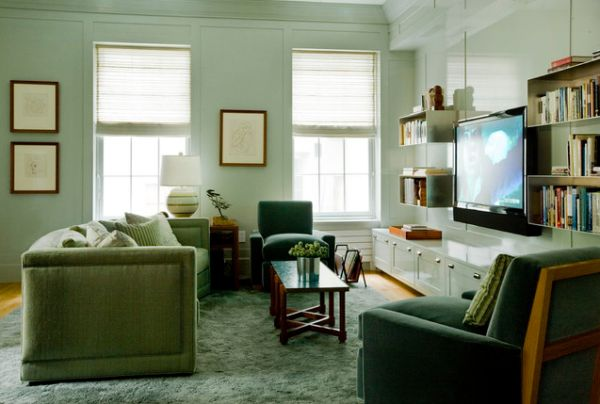 Beautiful Interiors Featuring Wallmounted Tvs