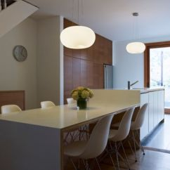 Kitchen Island And Table Pictures Of Wood Cabinets 30 Islands With Tables A Simple But Very Clever Combo Sleek Barstools View