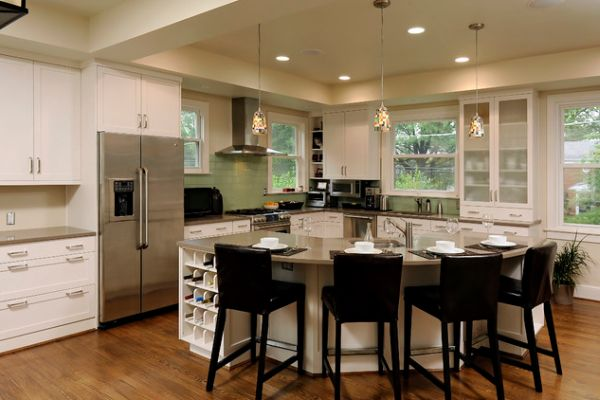 islands for kitchens roll around kitchen island 30 with tables a simple but very clever combo view in gallery traditional