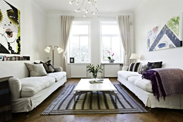interior design for small living room photos modern sofa a minimalist and elegant apartment with an ...