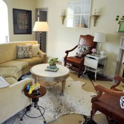 How To Decorate A Small Living Room With Sofa And Loveseat Corner Low Back Cowhide Rugs Few Ways Of Using Them In Your Interior ...