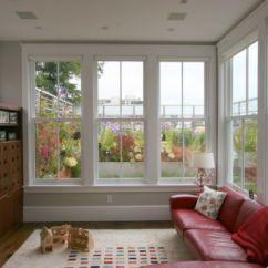 Living Room Big Window Ideas Off White Walls How To Decorate A With Large Windows View In Gallery