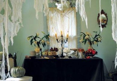 Indoor Halloween Table Decorations