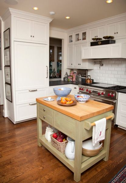 small kitchen with island design ideas 10 Small kitchen island design ideas: practical furniture for small spaces