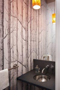 best wallpaper for bathroom 2017 - Grasscloth Wallpaper